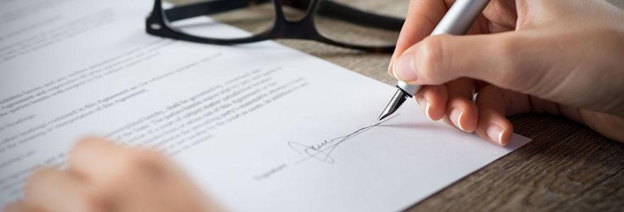 Documents pour création de franchise